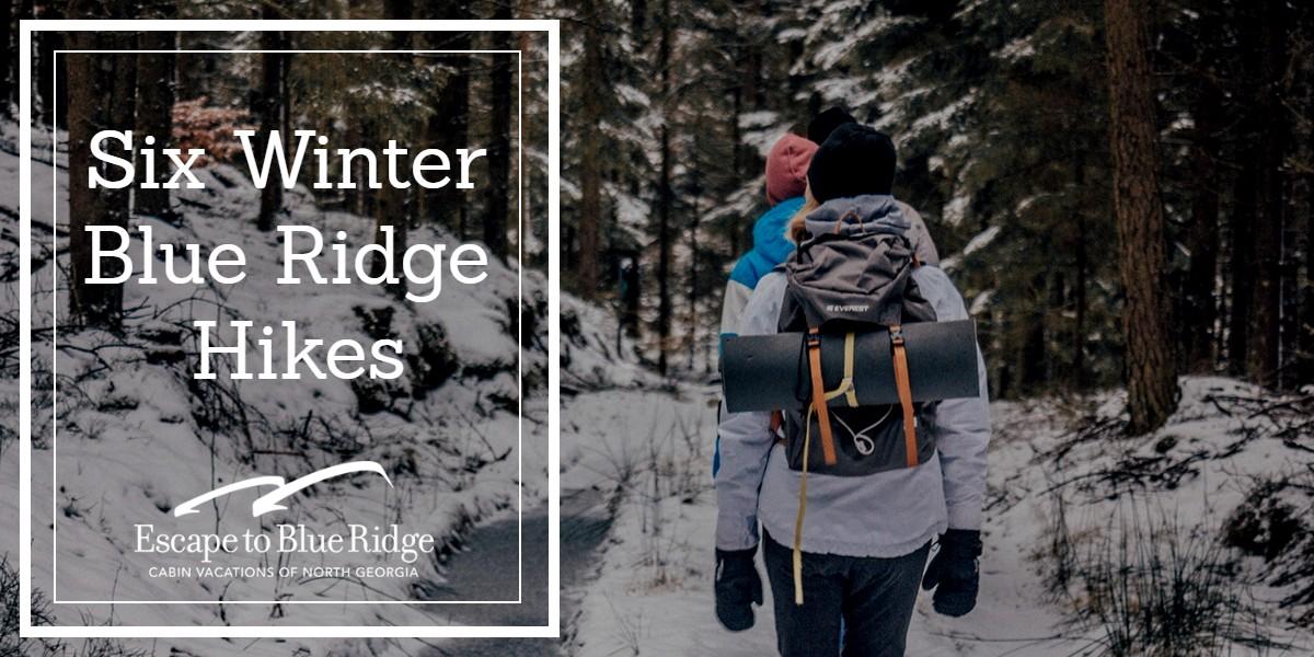 Six Winter Blue Ridge Hikes