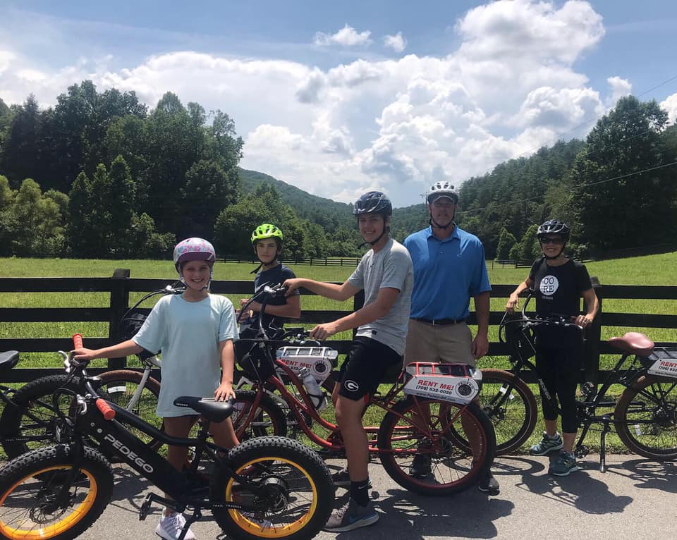 Photo Courtesy of Pedego Electric Bikes Blue Ridge GA