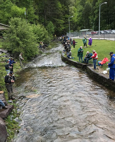 Escape to blue ridge for Georgia fish hatcheries